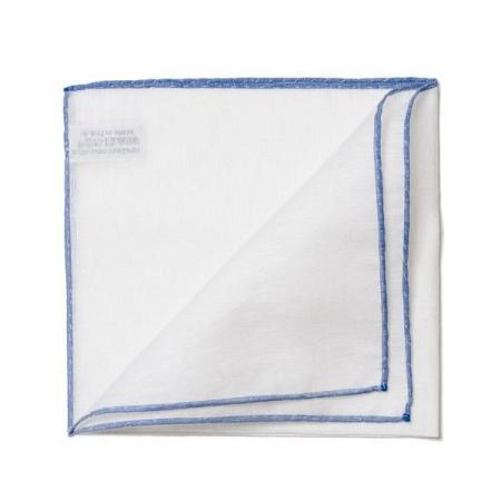 Les essentiels » Mouchoir de poche 8110 à bord bleu