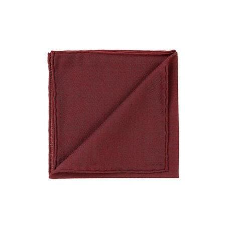 Les précieux » Pochette cachemire rouge