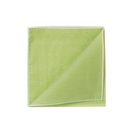 Les essentiels » Mouchoir de poche HR fougere à bord blanc